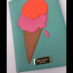 KATE SPADE ice cream cone Imogene wallet holder